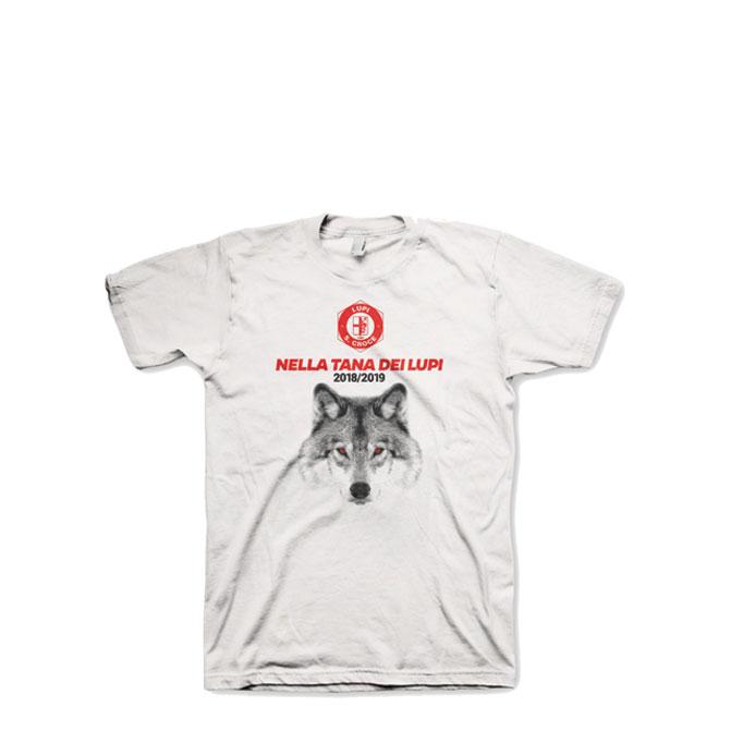 "T-Shirt ""Nella Tana dei Lupi 2018-2019"""