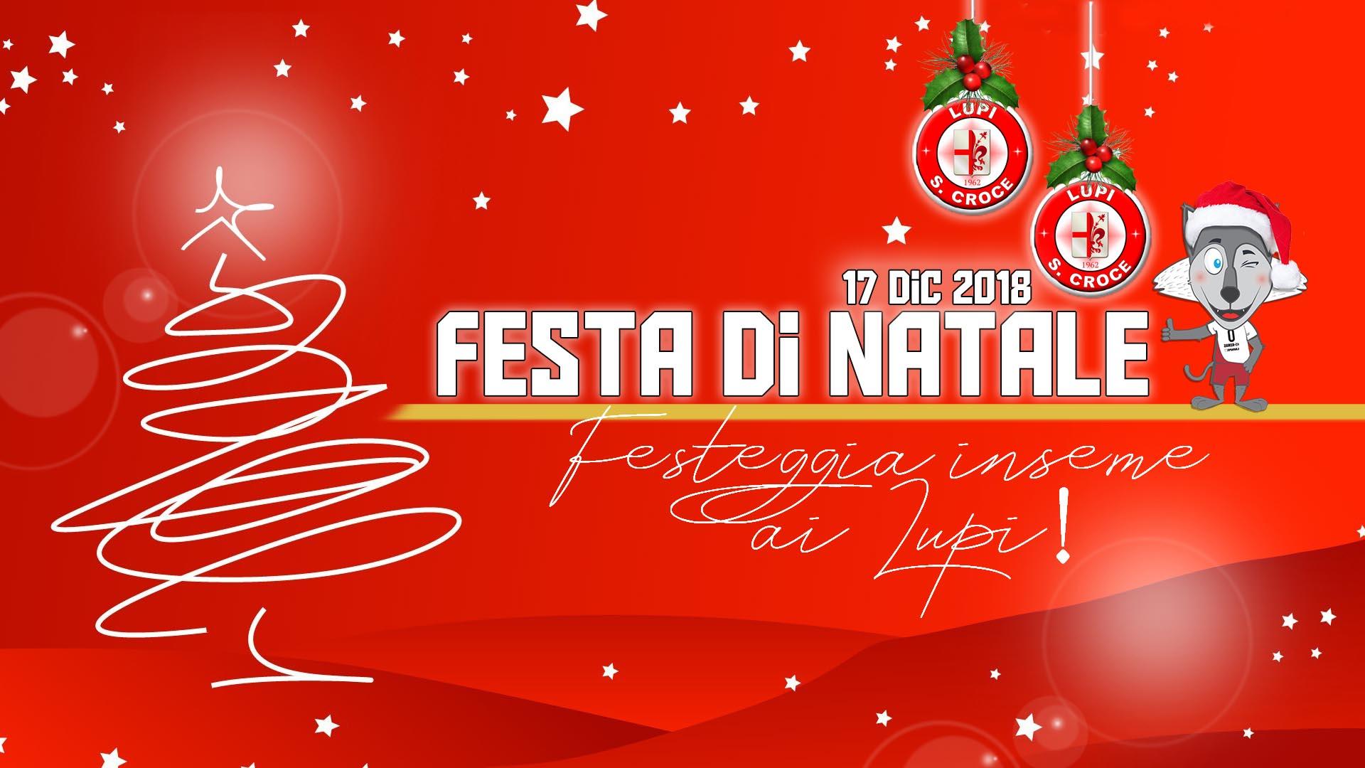 Festa Di Natale.Festa Di Natale 2018 In Casa Lupi Lunedi 17 Al Palaparenti