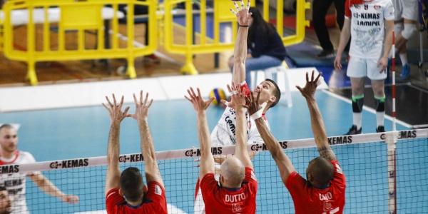 Kemas Lamipel Santa Croce – Volley Cuneo