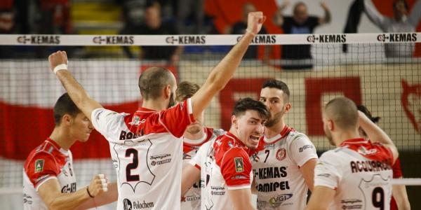 Kemas Lamipel S.Croce – New Real Volley Gioia del Colle